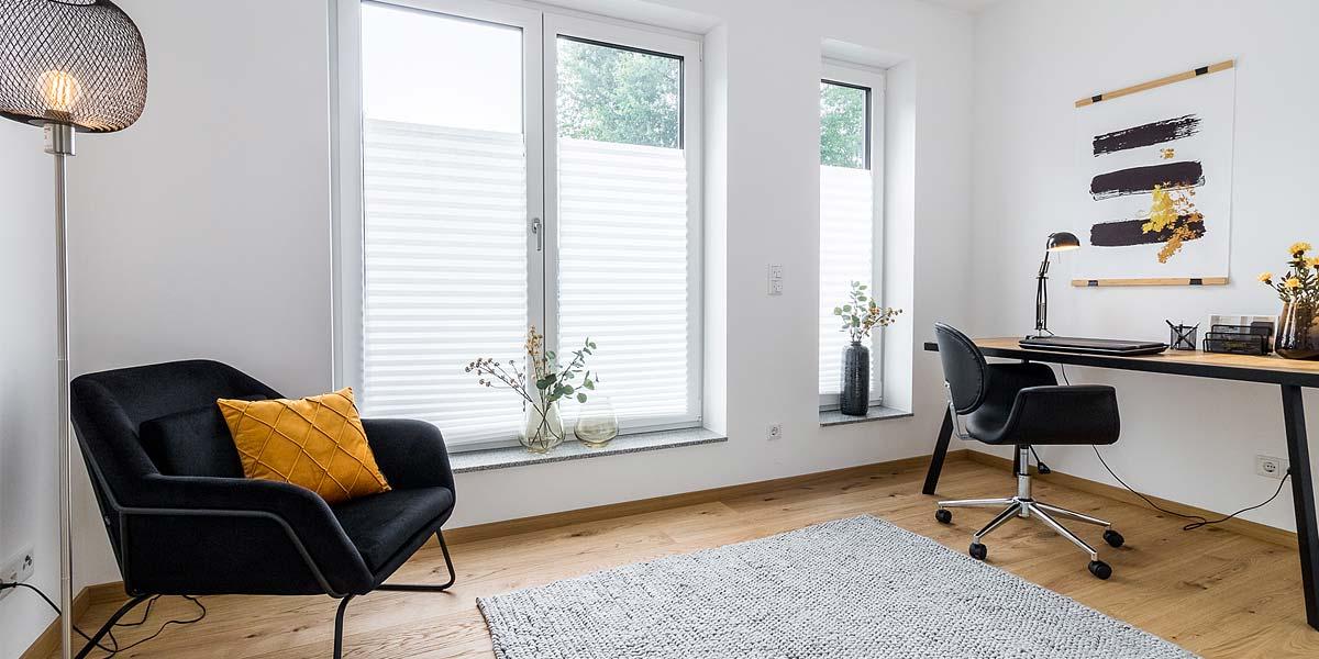 Arbeitszimmer mit Home Staging