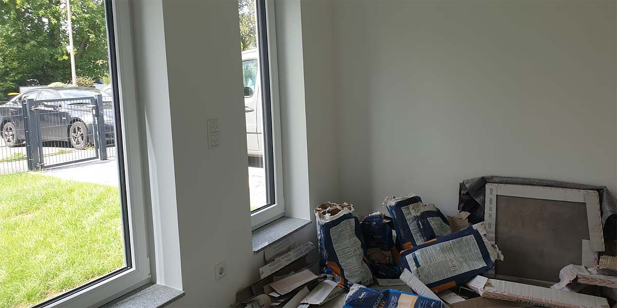 Arbeitszimmer ohne Home Staging