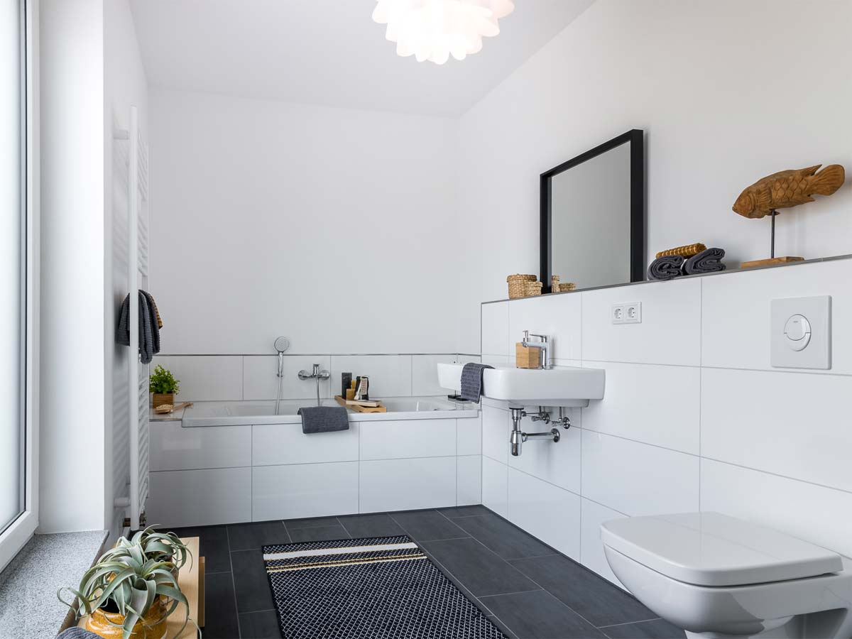 Badezimmer mit Home Staging