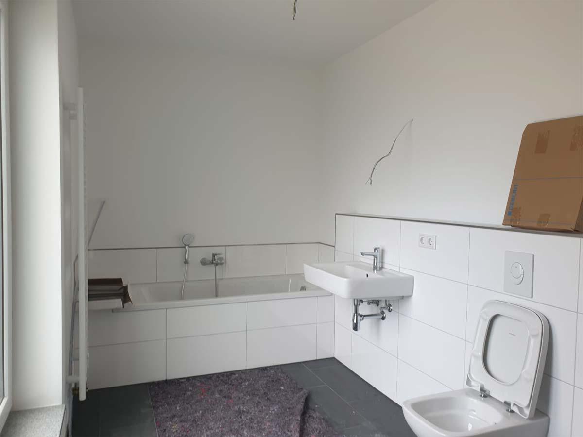 Badezimmer ohne Home Staging