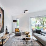 Wohn- und Essbereich mit Home Staging
